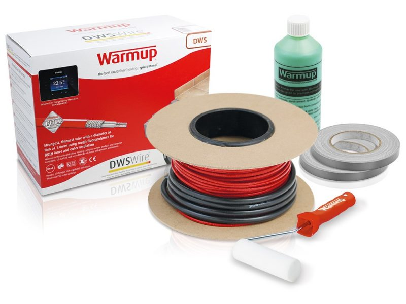 Whats The Distinction Between A Underfloor Heating Cable Mat And Cable Kit